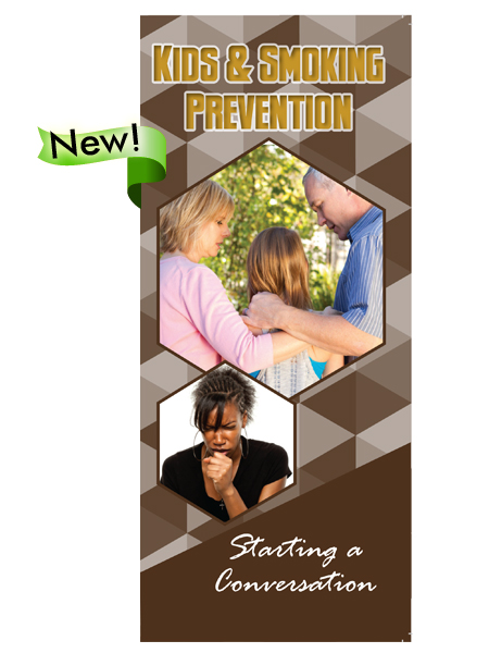 Starting a Conversation: Kids & Smoking Prevention Pamphlet