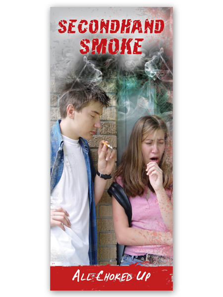 Secondhand Smoke: All Choked Up Pamphlet