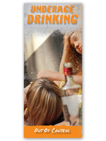 Underage Drinking: Out of Control Pamphlet