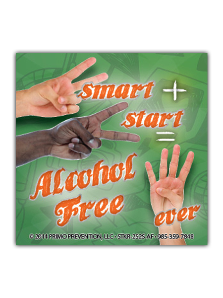 2-Smart-2-Start-Alcohol Sticker