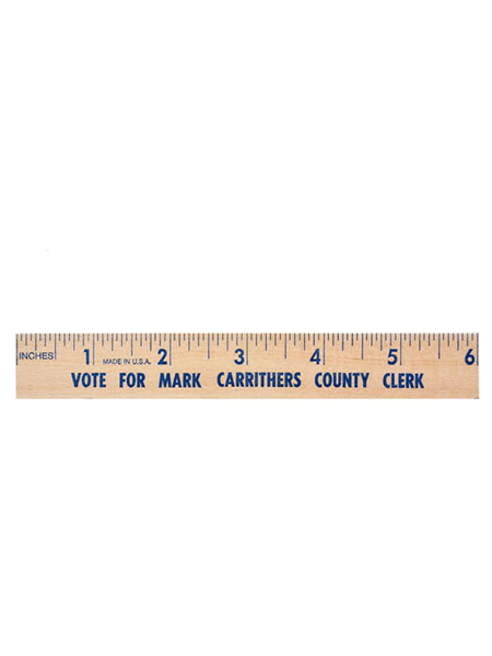 6 inch Natural Wooden Ruler