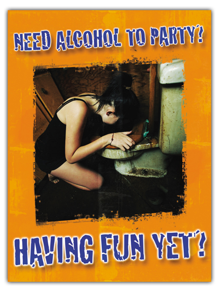 Alcohol Prevention Mini-Poster