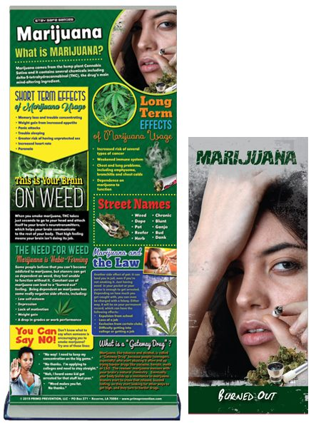 Marijuana Prevention Retractable Banner Package