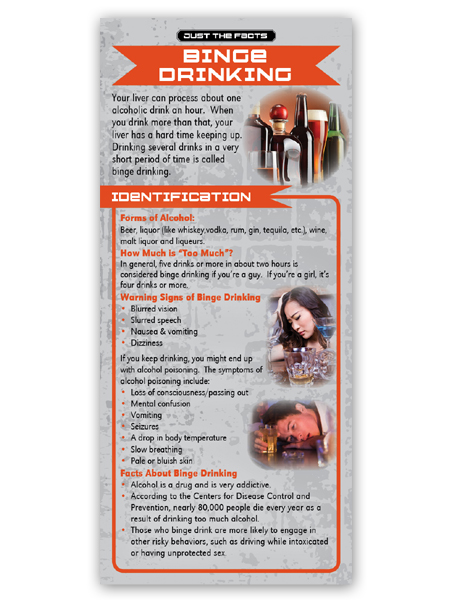 Just the Facts Rack Card: Binge Drinking