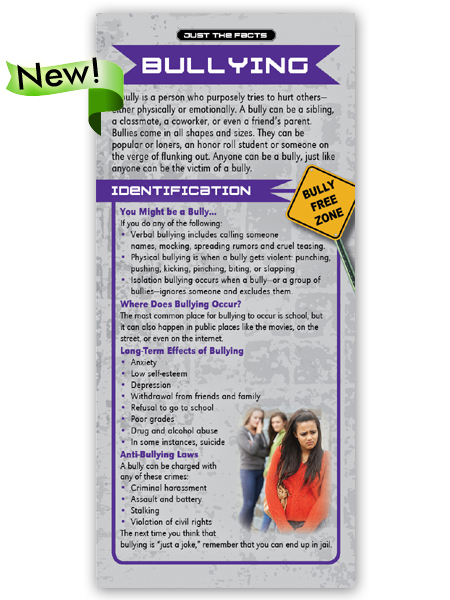 Just the Facts Rack Card: Bullying