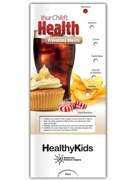 Your Child's Health: Preventing Obesity Pocket Slider