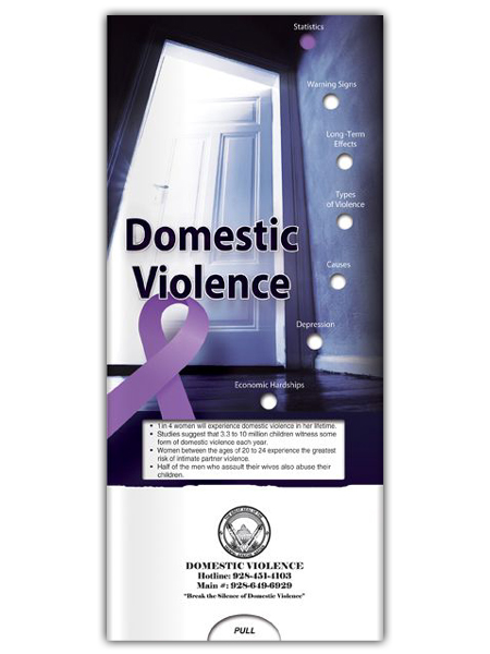Domestic Violence Pocket Slider