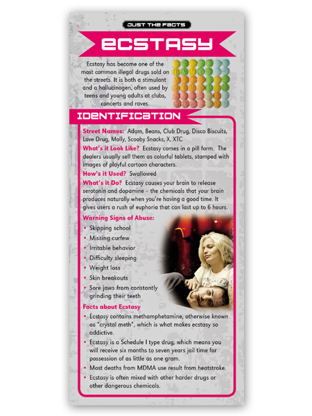 Just the Facts Rack Card: Ecstasy