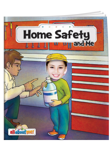 Home Safety & Me - All About Me Book