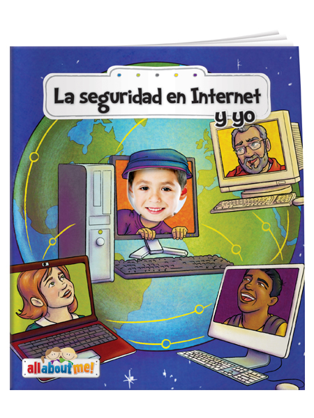 *SPANISH* Internet Safety & Me - All About Me Book