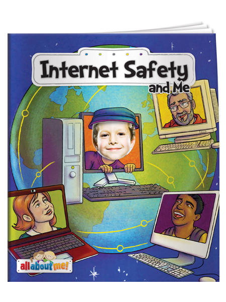 Internet Safety & Me - All About Me Book