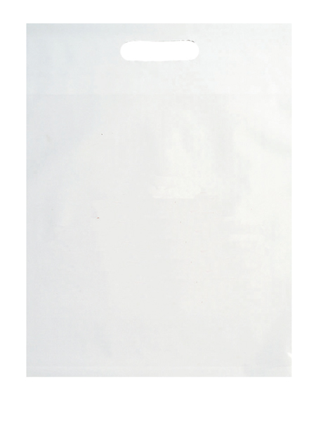 "Die Cut Handle Litter Bag 9"" x 13"""