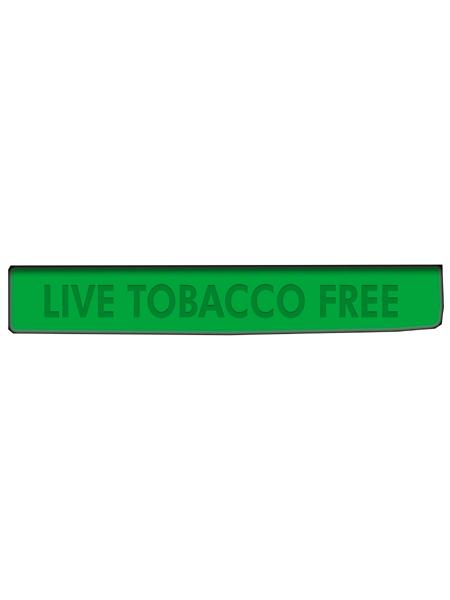 Live Tobacco Free Silicone Wristband