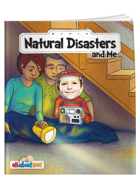 Natural Disasters & Me - All About Me Book