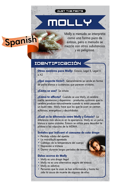 *SPANISH* Just the Facts Rack Card: Molly