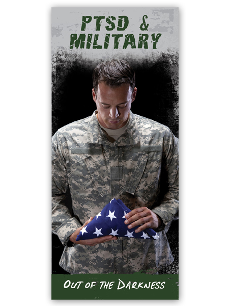 PTSD & Military: Out of the Darkness Pamphlet