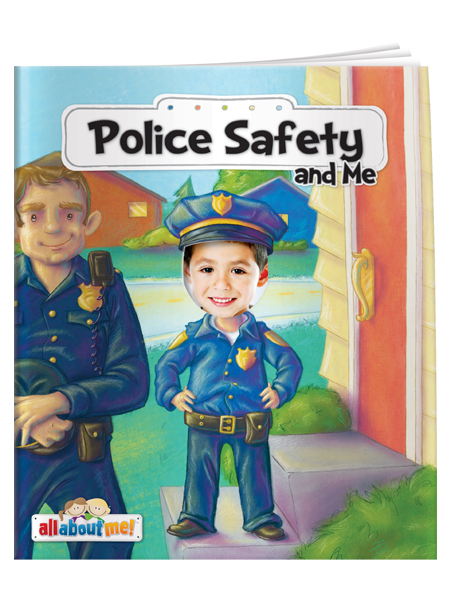 Police Safety & Me - All About Me Book