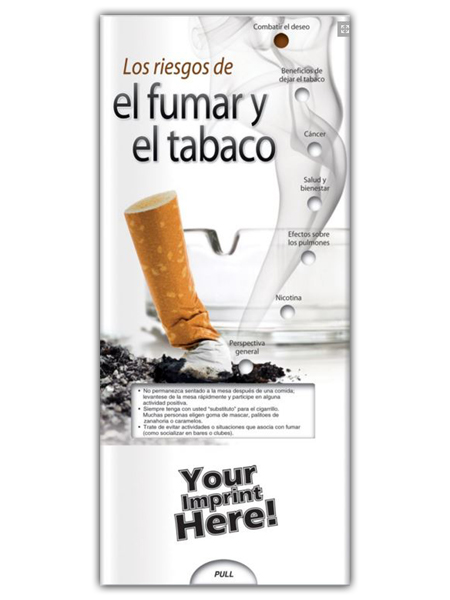 *SPANISH* Risks of Smoking & Tobacco Pocket Slider