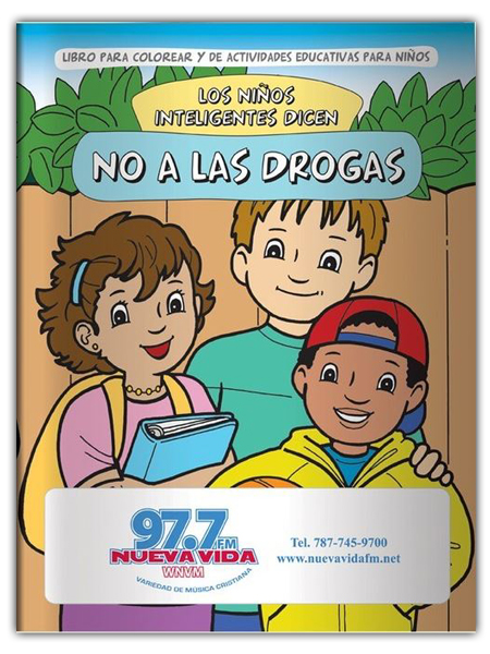 *SPANISH* Smart Kids Say No to Drugs! Activity Book