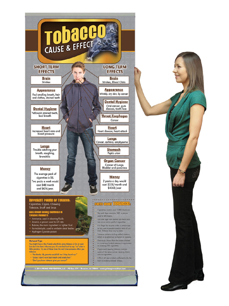 tobacco cause & effect banner