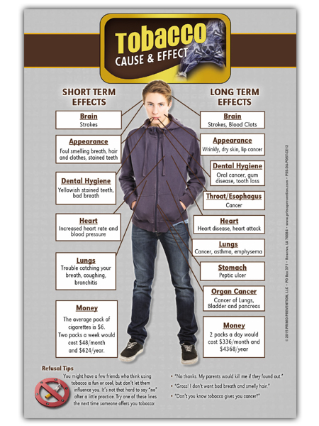Tobacco Cause & Effect Mini Poster