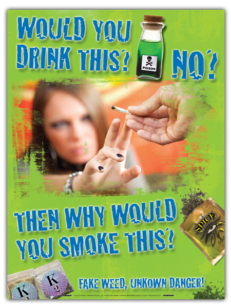 Fake Weed Prevention (Synthetic Marijuana) Mini-Poster