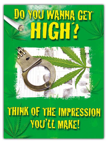 Marijuana Prevention Mini-Poster