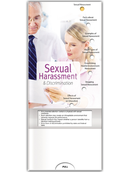 Sexual Harassment & Discrimination Pocket Slider