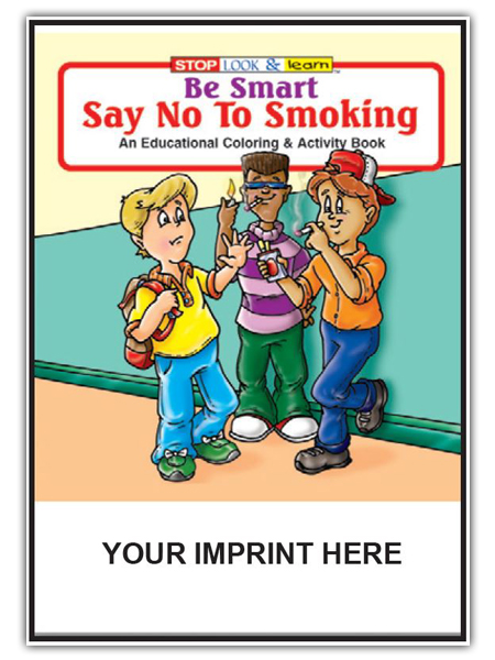 Be Smart, Say No to Smoking Activity Book