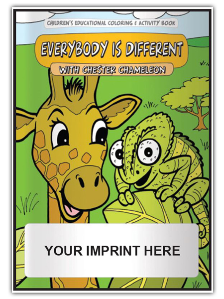 Everybody Is Different Activity Book