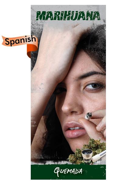 *SPANISH* Marijuana: Burned Out Pamphlet