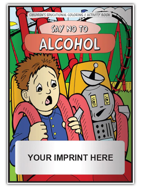 Say No to Alcohol Activity Book