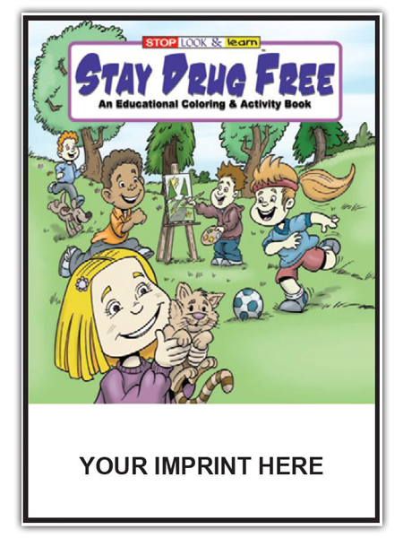 Stay Drug Free Activity Book