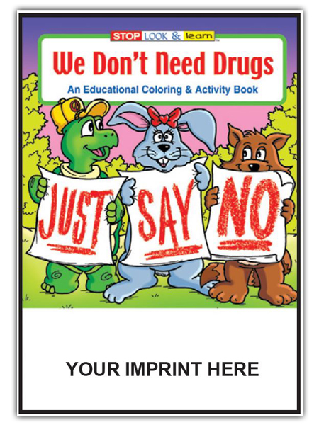 We Don't Need Drugs Activity Book