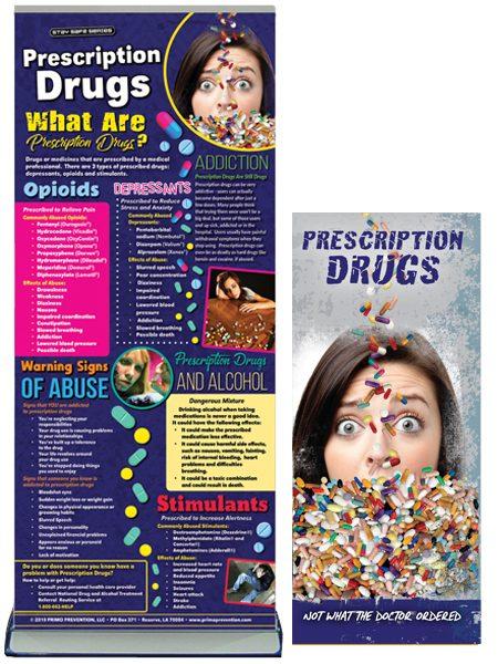Prescription Drugs Retractable Banner Package