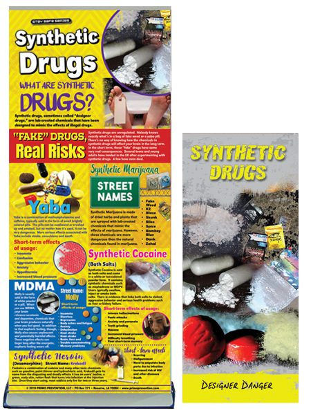 Synthetic Drugs Retractable Banner Package