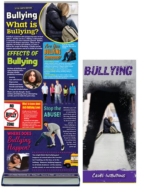 Bullying Retractable Presentation Banner Package
