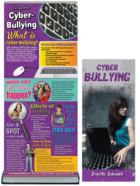 Cyber-Bullying Retractable Presentation Banner Package