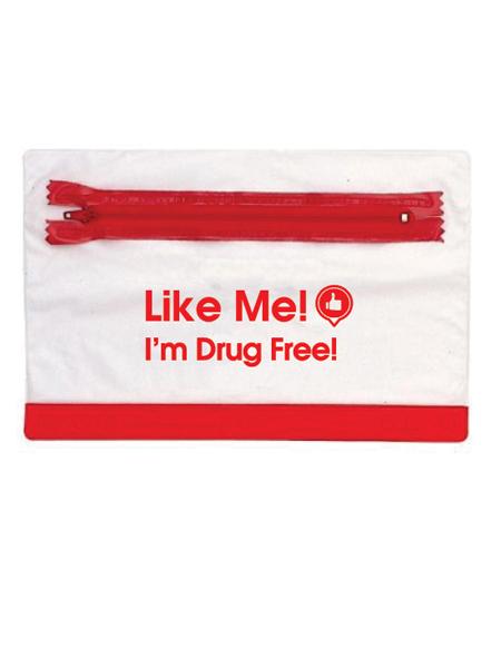 Like Me, I'm Drug Free! Pencil Pouch