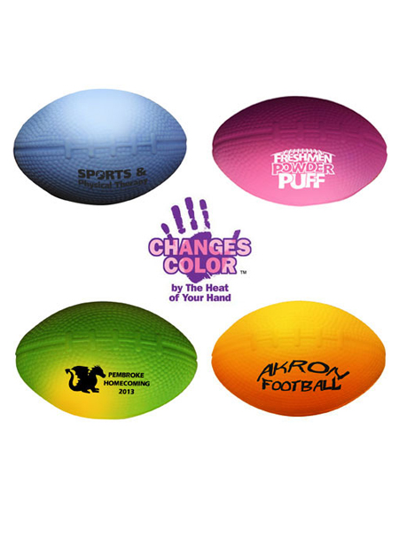 Mood Round Stress Reliever Football Shape