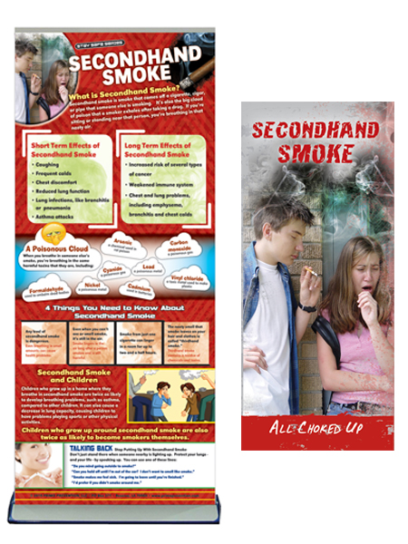 Secondhand Smoke Retractable Banner Package