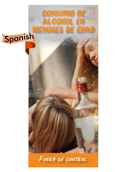 *SPANISH* Underage Drinking: Out of Control Pamphlet