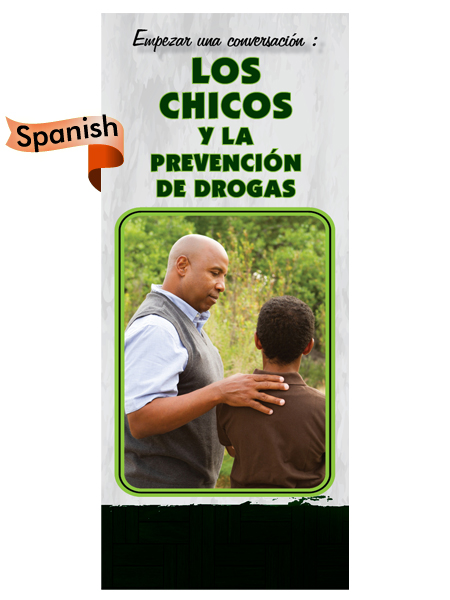 *SPANISH* Starting a Conversation: Kids & Drug Prevention Pamphlet