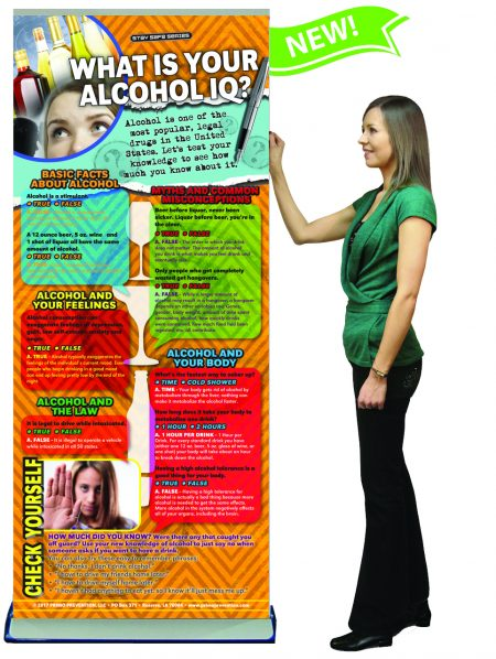 What is your Alcohol IQ? Retractable Banner