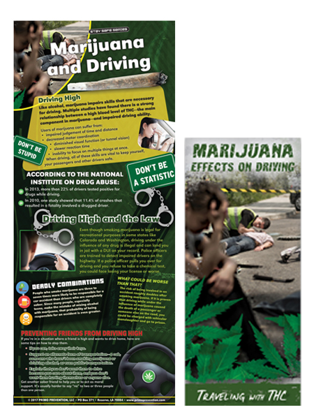 Marijuana's Effects on Driving Presentation Banner Package
