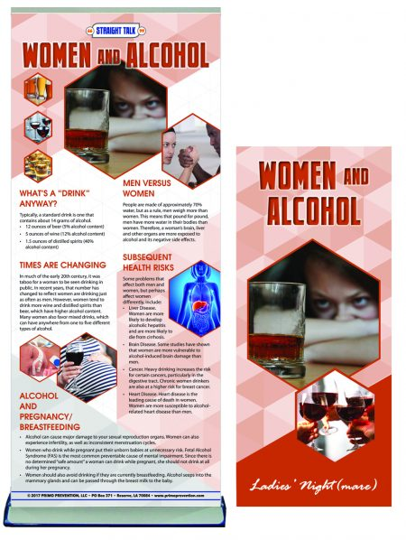 Women & Alcohol Presentation Banner Package