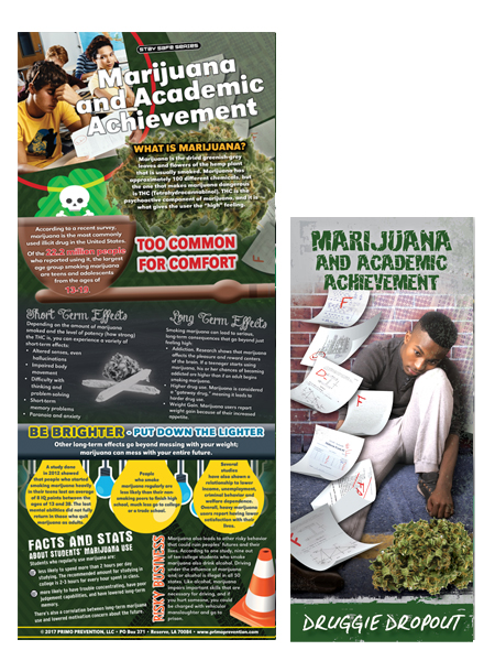 Marijuana & Academic Achievement Retractable Banner Package