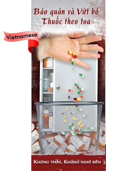 *VIETNAMESE* Prescription Drug Storage & Disposal Pamphlet