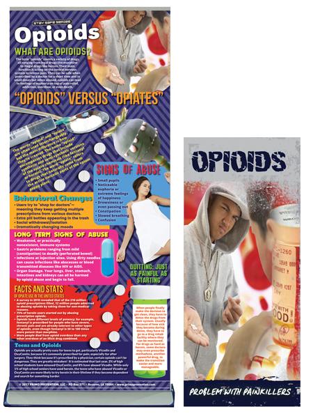 Opioids Retractable Banner Package