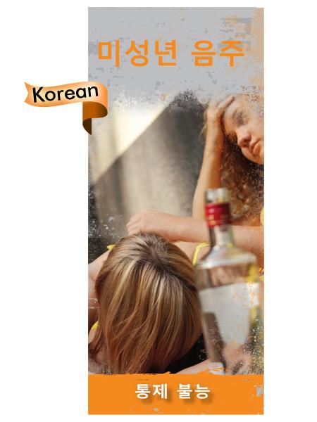 *KOREAN VERSION* Underage Drinking Pamphlet